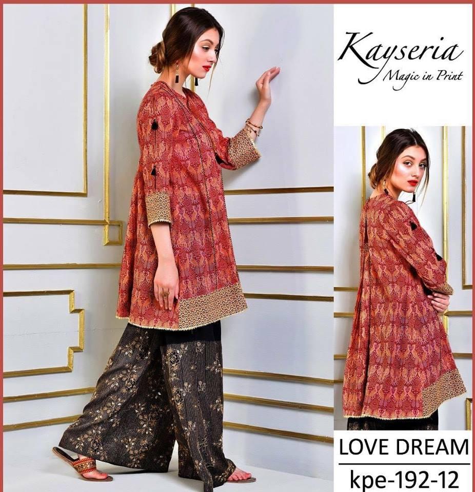 f83c3a382c Brand Kesriya Linen Collection with Chiffon Dupatta (Master Replica -  Unstitched) - Rangeen Fashion
