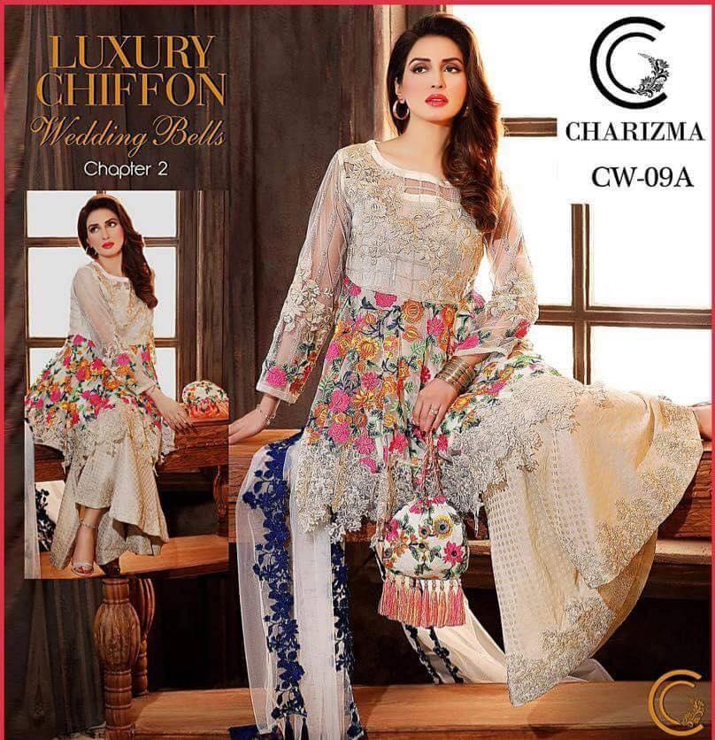 c45e5b4ee1c1e Brand Charizma Linen Collection with Chiffon Dupatta (Master Replica ...